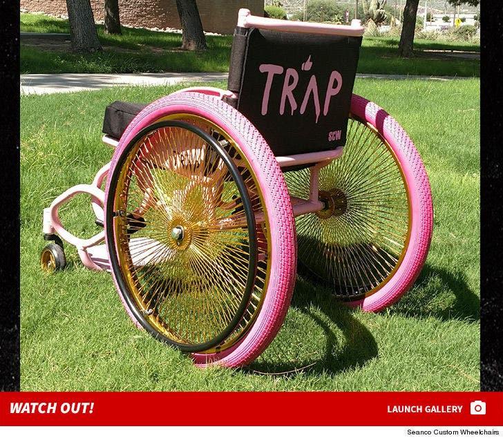 2 Chainz's Custom Wheelchair
