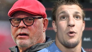 Bucs Coach Bruce Arians Warns Rob Gronkowski, I'm Coming For Your WWE Belt!