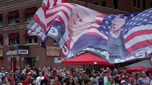 Trump Supporters Swarm Tulsa, Campaign Staff Test Positive for COVID-19