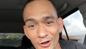 UFC's Yancy Medeiros to Drug Tester, I'm in the Middle of Having Sex!