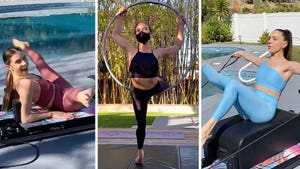 Jenna Johnson's Hot Pilates Pics