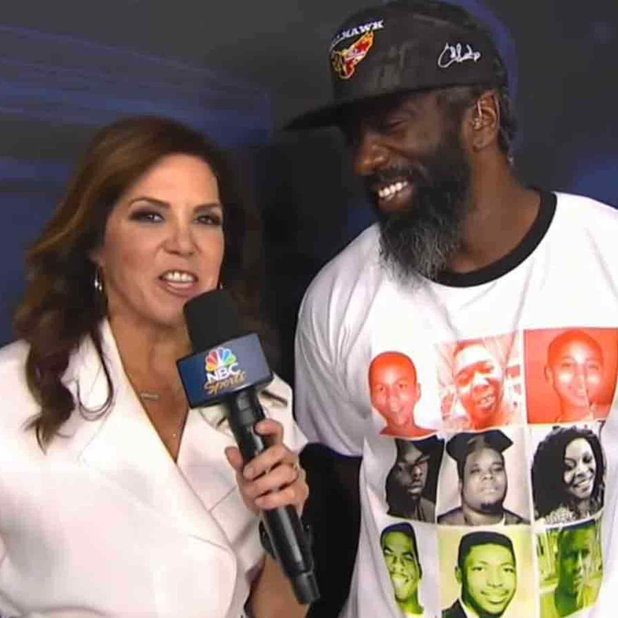 Ed Reed Dumps HOF Polo To Raise Awareness For Police Violence Victims