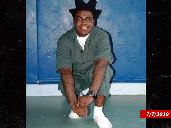 Kodak Black handed 46 month jail sentence & labelled