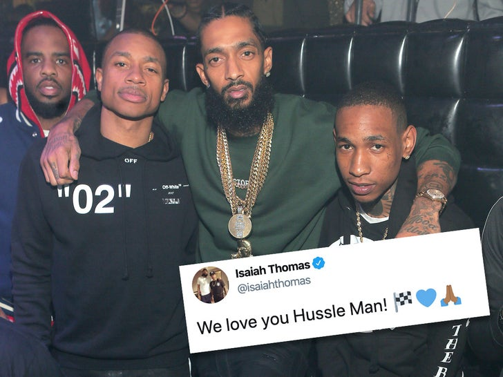 Athletes Pay Tribute to Nipsey Hussle 1 Year After Death