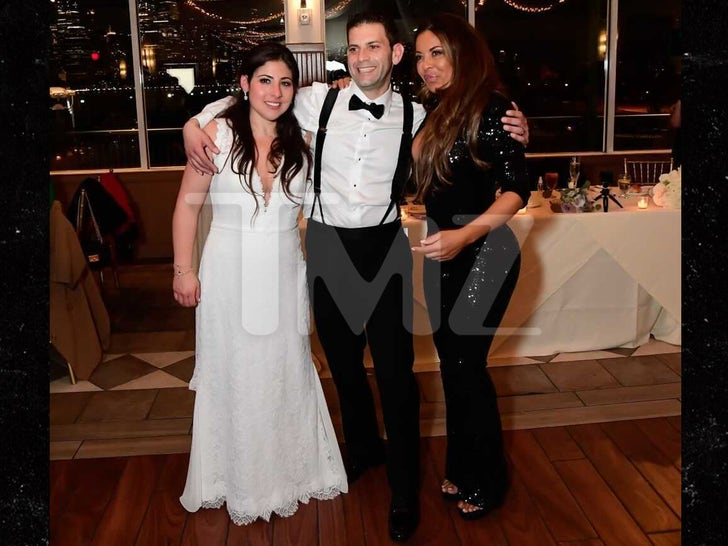 'RHONJ' Star Dolores Catania Crashes Jersey Wedding