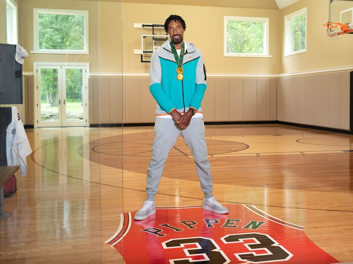 Scottie Pippen's House on Airbnb For Olympics