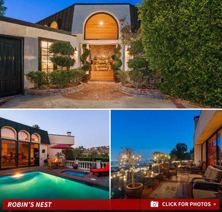 Robin Thicke and Paula Patton -- Put Home Up for Sale ... Final Nail?