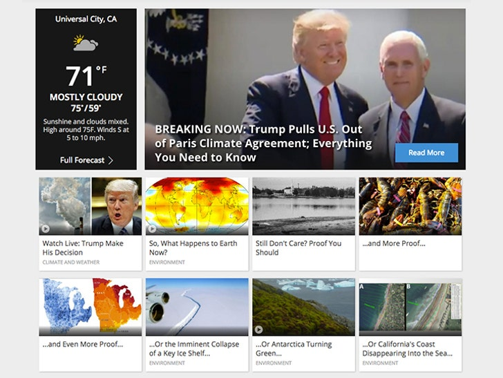 The Weather Channel Goes After Trump for Pulling Out of