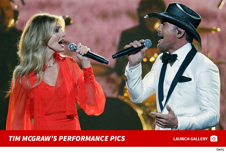 Tim McGraw's Performance Pics