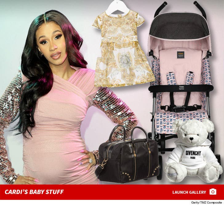 Cardi B S Daughter Kulture Is Rolling In 7k Worth Of Designer Stuff