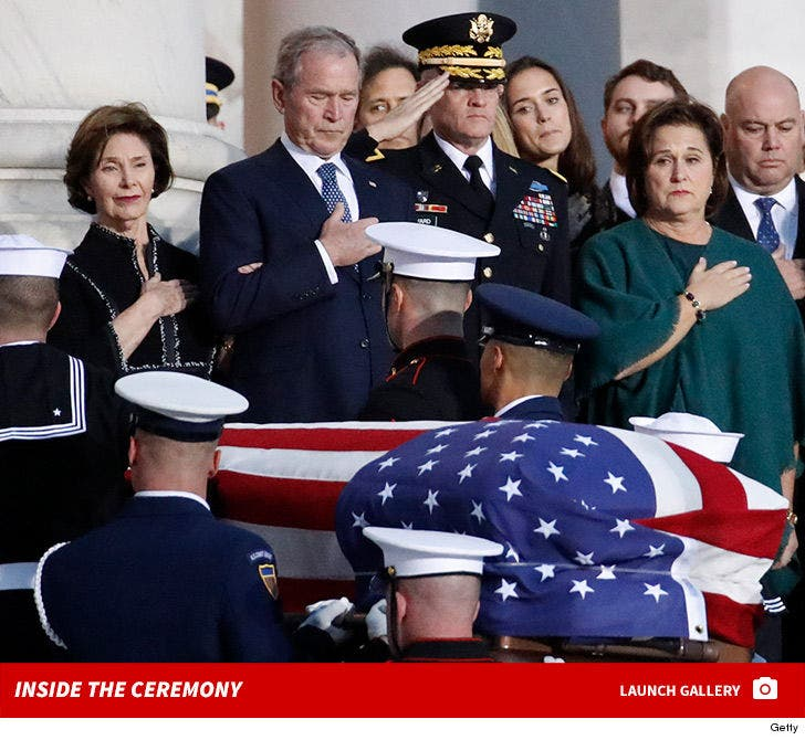 Inside George H.W. Bush's State Funeral