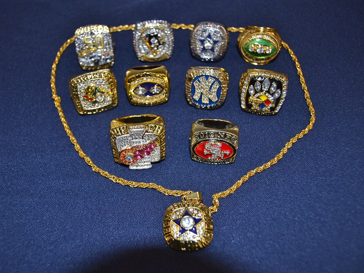 $12 MILLION In Bogus Super Bowl, World Series Rings Seized In