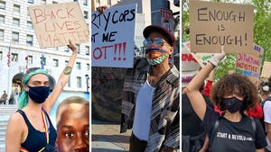 Celebs Protesting For BLM