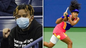 Naomi Osaka's BF, Rapper Cordae, Cheers On Tennis Star From Stands At US Open