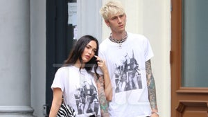 Megan Fox & MGK Wear Matching Outfits in NYC