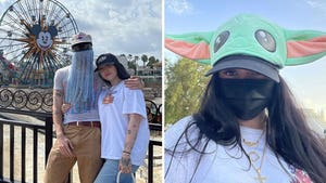 Noah Cyrus and Orville Peck's Disneyland Day