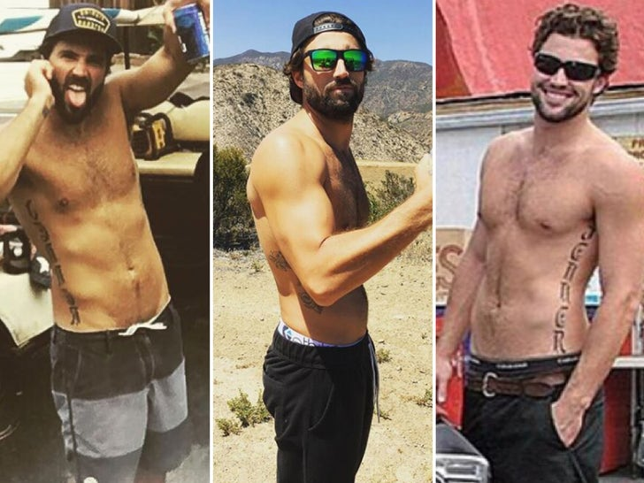 Brody Jenner's Shirtless Shots