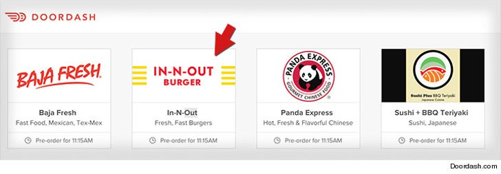 In-N-Out Sues Delivery Company     We Don't Trust You With Our Burgers!