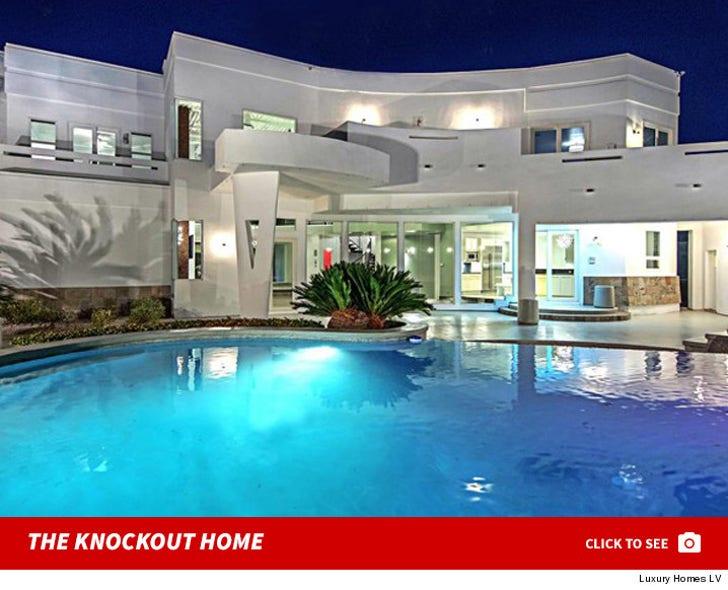 Mike Tyson's Vegas Home