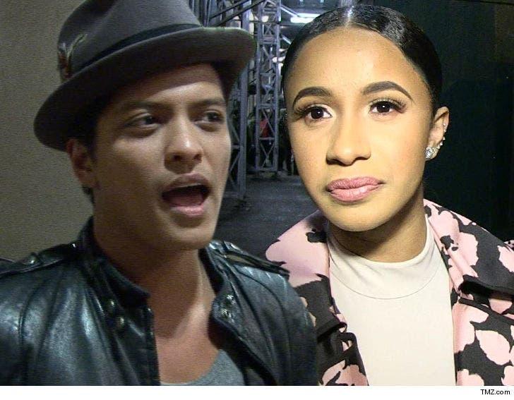 Bruno Mars Scrambling to Replace Cardi B on Tour