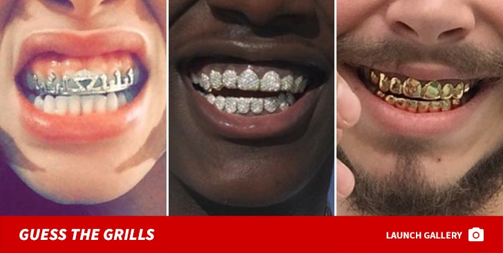 Celebrity Grills -- Guess Who!