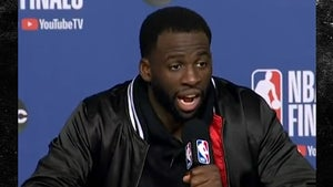 Draymond Green Blasts Post-Game Drake Question, It Wasn't A Scuffle!