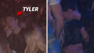 Tyler Cameron Hooks Up with Mystery Blonde,  Might be Kylie's Pal