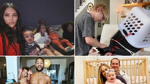 Parenting Pandemic -- How Famous Families Are Passing The Time