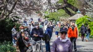 Central Park Still Busy as NYC Coronavirus Apex Nears