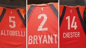 Gianna Bryant & Teammates Named Honorary WNBA Draft Picks, Vanessa Emotional