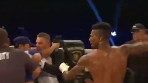 Blueface Attacked By Fan After Winning at Bare Knuckle Fighting Event