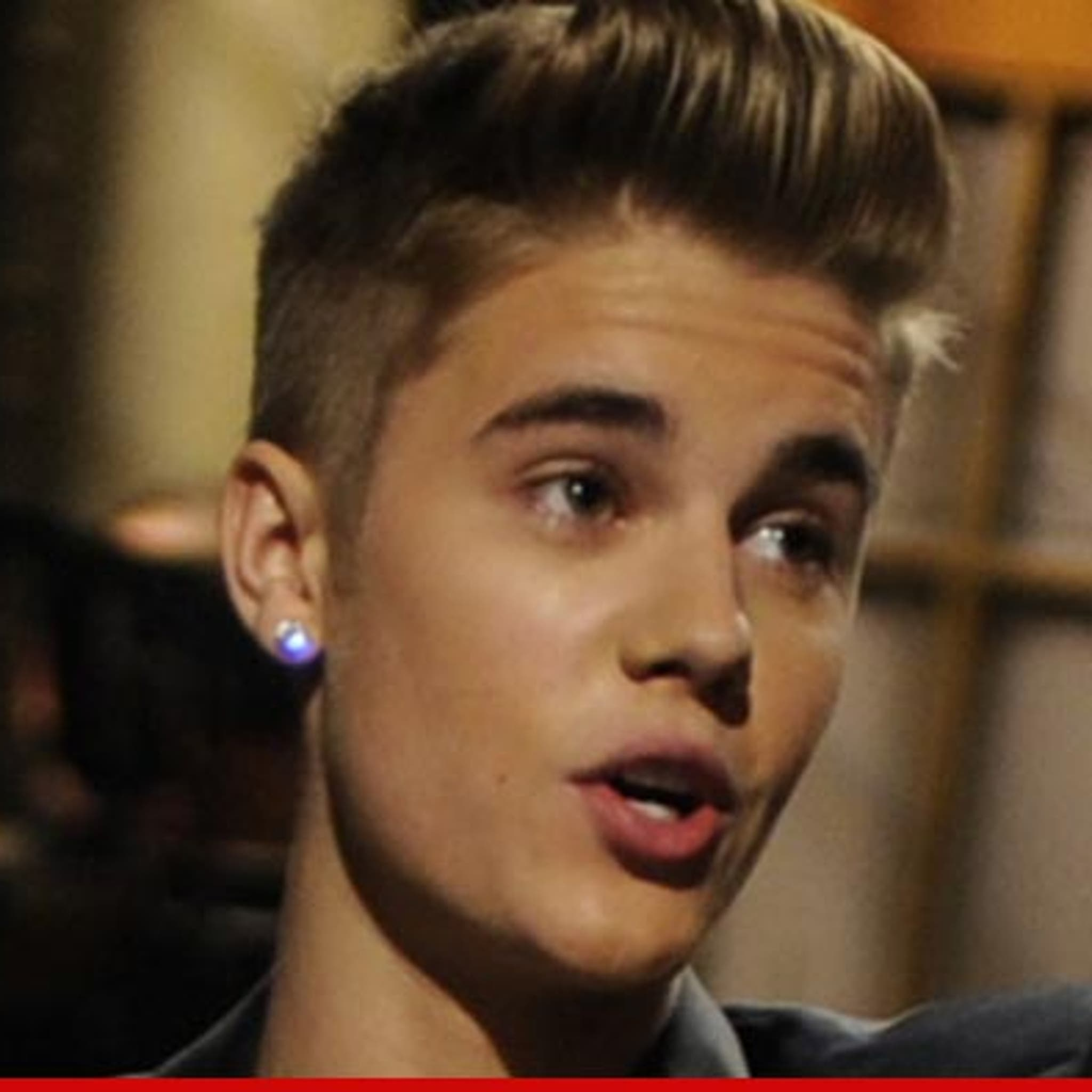 Justin Bieber -- I Got a Tummy Ache From Food Poisoning