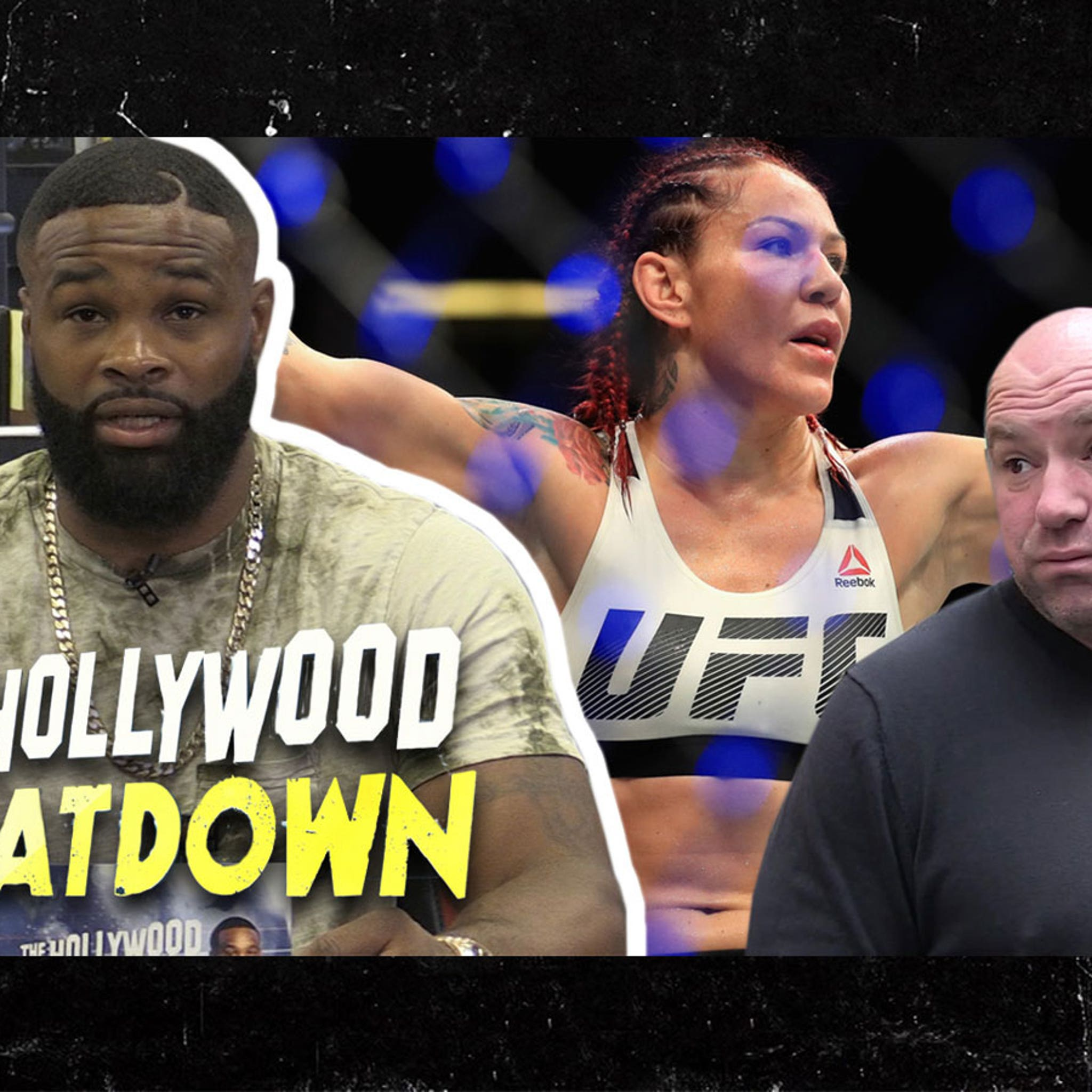 Dana White Will Squash Cyborg Beef And Resign Her, Says Tyron Woodley