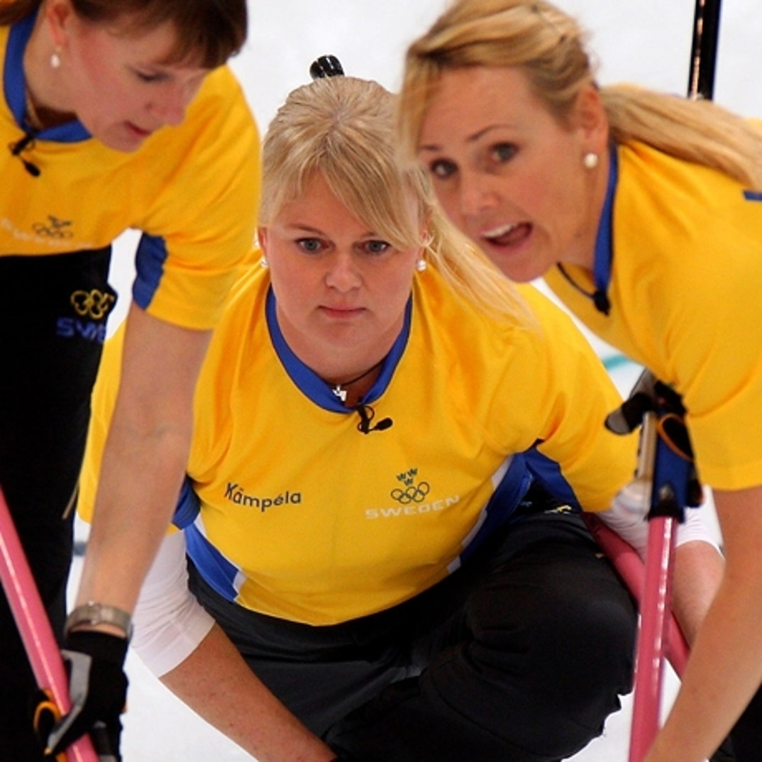 Anette Norberg hot olympic curler girls