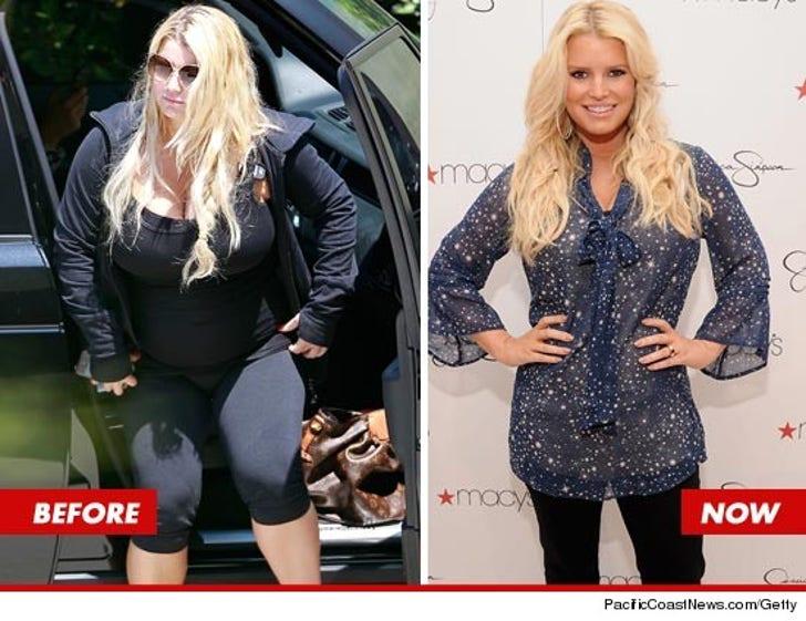 Jessica Simpson -- The Super Secret Weight Watchers Diet Plan