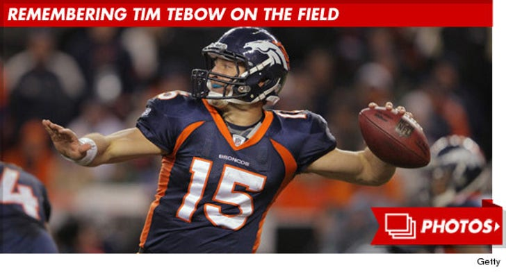 Remembering Tim Tebow On The Field