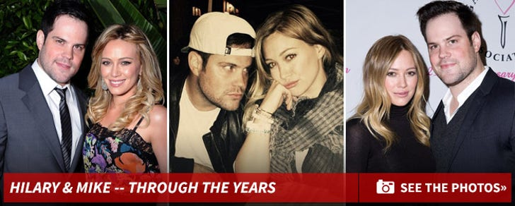 Hilary Duff and Mike Comrie -- Before the Split