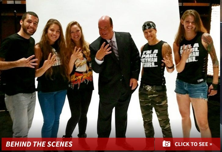 Ronda Rousey Behind the Scenes Pics