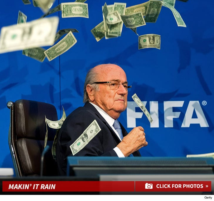 Sepp Blatter -- Makin' It Rain