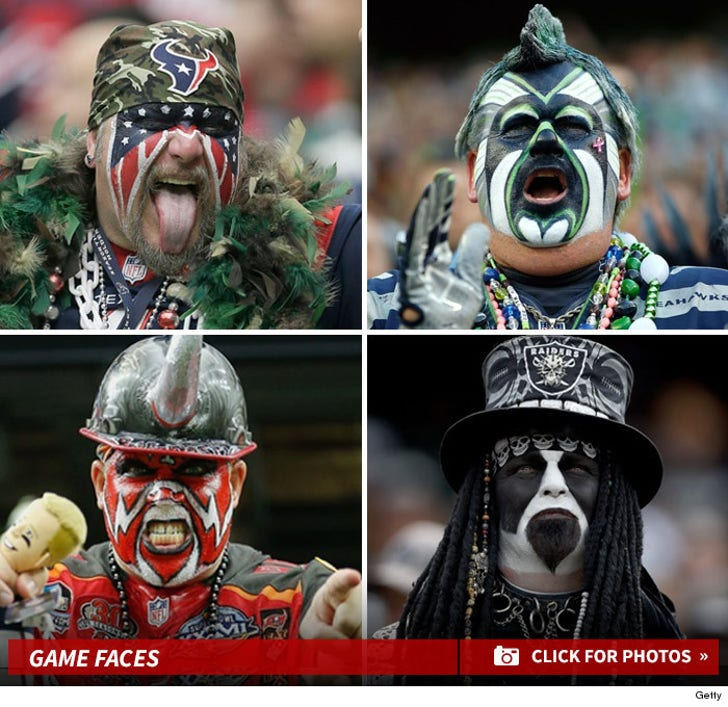 NFL Fanatics -- The Face Painted Fiends!