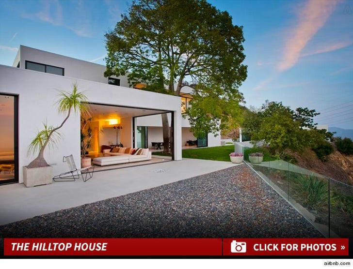 Joe Jonas' Hollywood Hills Rental House