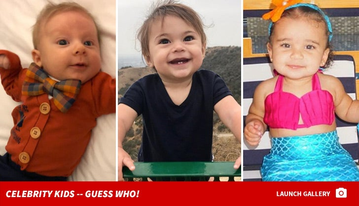 Celebrity Kids -- Guess Who!