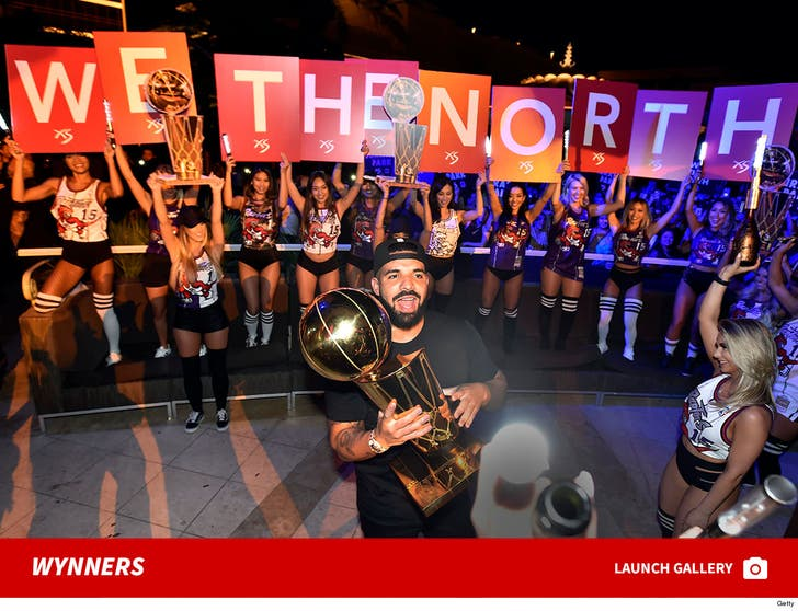 Raptors Head To Wynn Las Vegas To Celebrate NBA Championship
