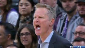 Steve Kerr Ejected After Cussing Out Ref On Hot Mic, 'Wake The F**k Up!'