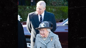 Queen Elizabeth Attends Sunday Church Service with Prince Andrew