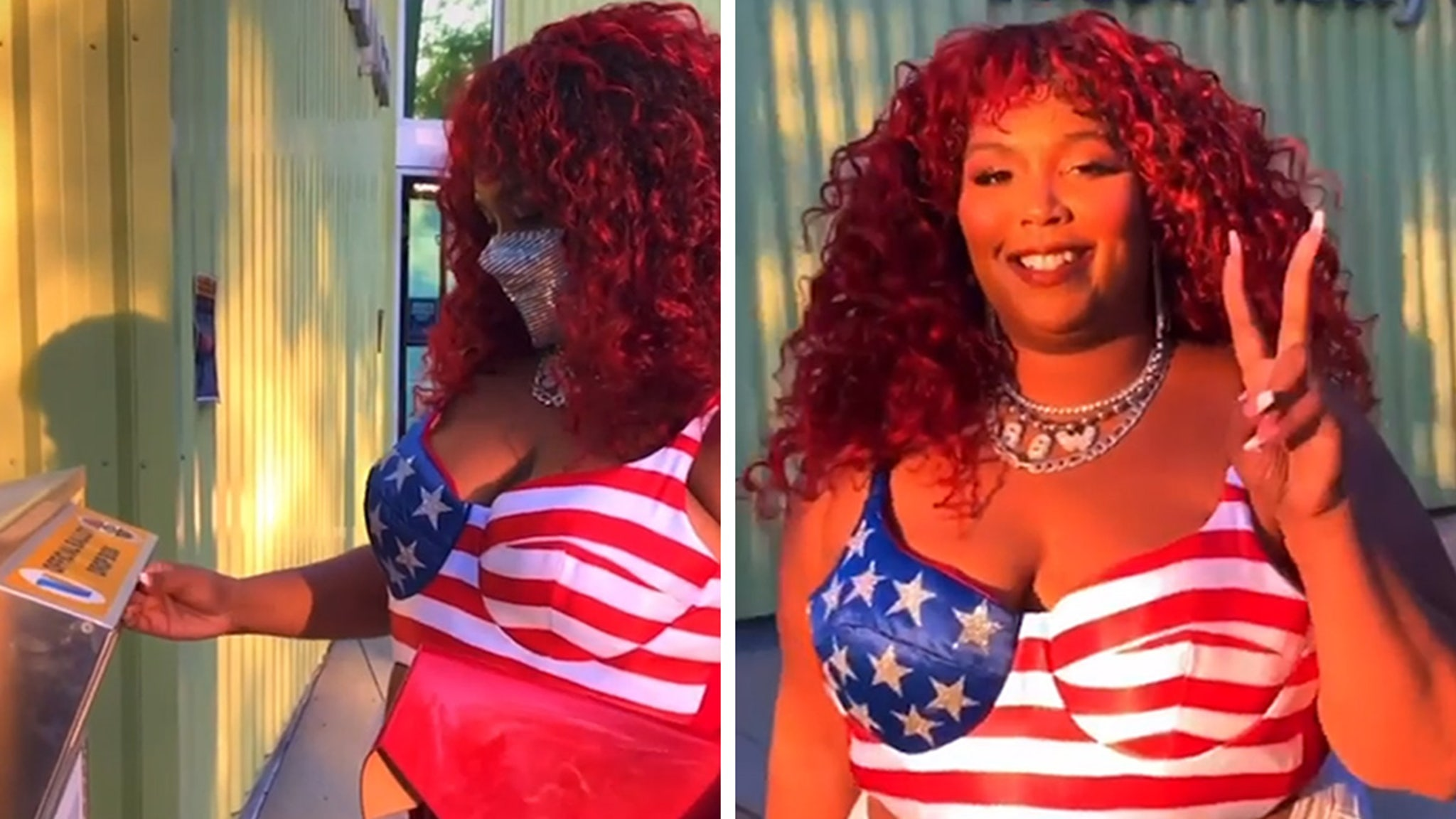 Lizzo I'm 100% That Voter