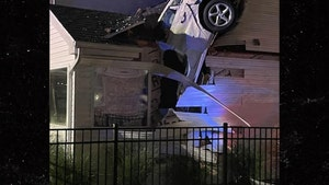 Car Crashes Through Roof of Missouri Family Home, Nobody Killed