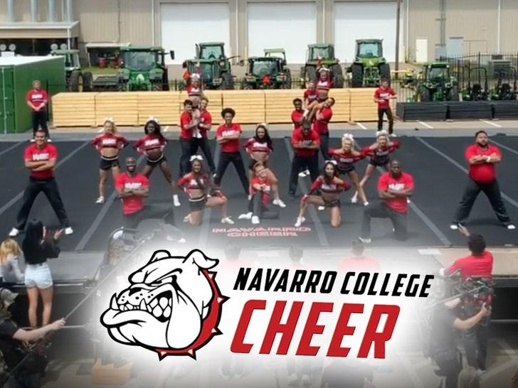 Netflix's Navarro Cheer Squad Finishes 2nd At Daytona, 15th Title Hopes Crushed.jpg