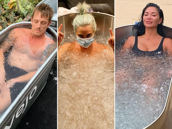 Stars In Ice Baths -- Feel The Brrr-n!
