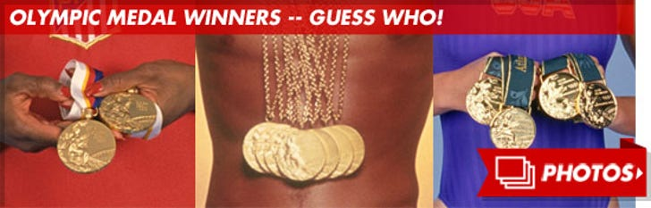 Olympic Medal Winners -- Guess Who!